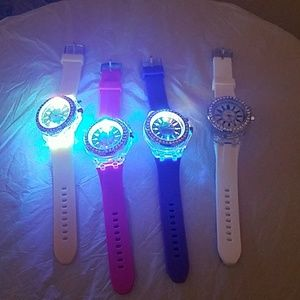 Light up watches